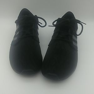 Adidas Cloud Foam Black sneakers size 9.5